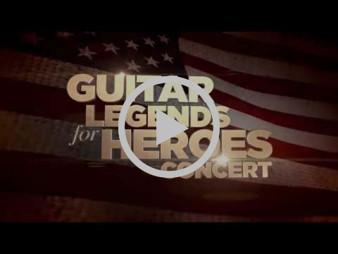 'Guitar Legends For Heroes' Tribute Concert